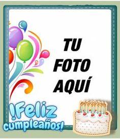 Fotomontaje de fácil edición, en web gratuita, para hacer una postal de felicitación.