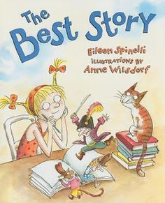 The Best story - showing voice in writing to fourth graders. 4th grade writing/reading