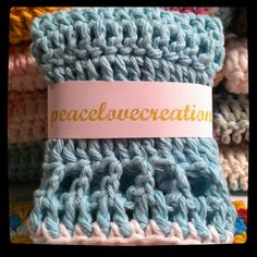 Crocheted Cotton Cloth by peacelovecreations on Etsy, $4.00