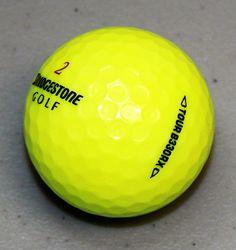 48 Bridgestone Tour B330-RX Yellow AAA (3A) Used Golf Balls -FREE Shipping