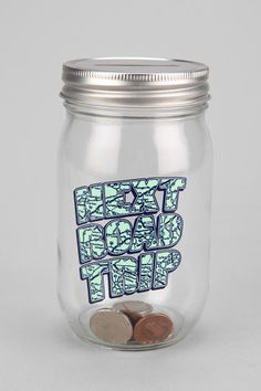 Road Trip Jar Bank #urbanoutfitters