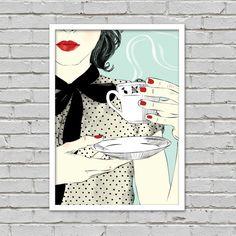Poster Café Retrô
