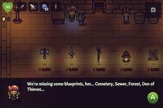 In the next update: shopkeepers reveal helpful blueprint location info! #screenshotsaturday from A Wizard's Lizard