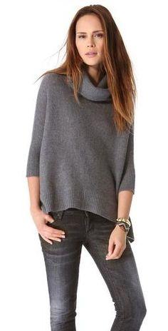 Sahara Cashmere Cowl Sweater