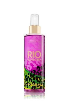 Bath  Body Works Rio Rumberry Body Mist 8 oz $7.95 (31% OFF)