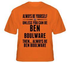 Ben Boulware Be Yourself Clemson USA Football Fan T Shirt