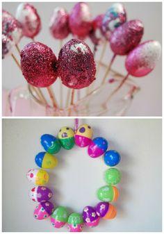 Easter Activities using Plastic Eggs