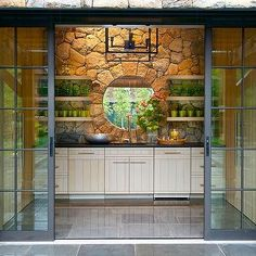 forget classic sliding doors, these exterior pocket doors are ...