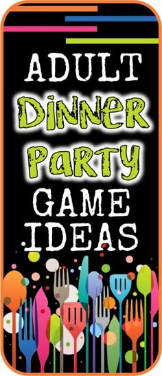 Adult dinner party games to add a little fun, get to know each other better, and enjoy an evening with good friends celebrating good times.