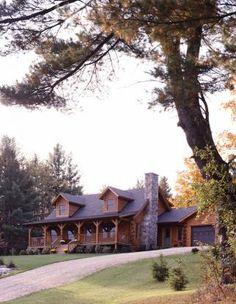 sudbury vt 10564 log home real log homes since 1963 cu Log Cabin Living, Log Cabin Homes, Log Cabins, Mountain Cabins, Feng Shui, Log Home Interiors, Log Cabin Furniture, Log Home Floor Plans, Log Home Designs