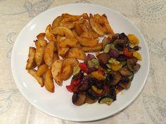Danis Abendessen landet in letzter Zeit auch häufiger auf dem schulz'schen Teller - Ofengemüse ist einfach immer lecker!  http://my-vegan-luxembourg.blogspot.de/2014/11/vegan-wednesday-116.html