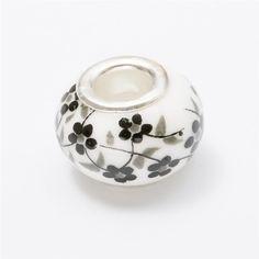 Free shipping 30pcs Murano ceramics beads European charm bead Fit Pandora Charms Bracelets Women Fashion Bead js1453