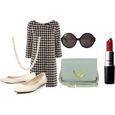 An Audrey Hepburn inspired outfit.