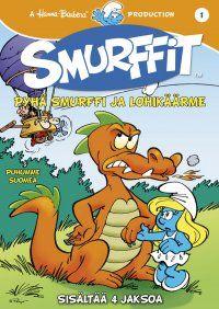 Smurffit 1 - Pyhä Smurffi ja Lohikäärme, 9,95 €. Ja muut Smurffi DVD:t, meillä on vain 4 - Suursmurffin hääpäivä.