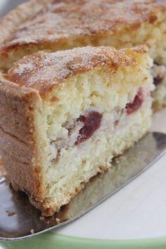 Milchreis-Torte mit Kirschen gebacken mit Rii Jii Reis