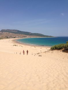 Tarifa, stunning beach as long as it's not too windy!