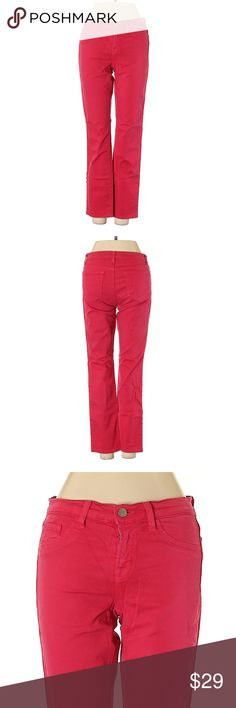 I just added this listing on Poshmark: J Brand Dark Reddish Pink Straight Leg Jeans. J Brand Jeans, Jeans Brands, Tye Dye Jeans, Army Green Jeans, Pegged Jeans, Outfits Casual, Jeans For Sale, Dark Wash Jeans, Skinny Legs