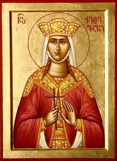 Ketevan the Queen of Georgia Saint Barbara, Byzantine Icons, Orthodox Christianity, Art Icon, Orthodox Icons, Saints, Roman Catholic, Religious Art, Ikon