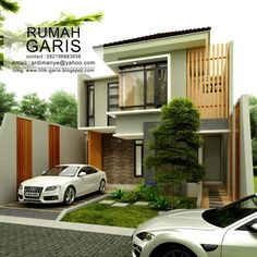 Simple as it can be, narrow lot house plans are design for compact layout and not luxury. Expectation is that all space are carefully designed to serve its purpose. Home Building Design, Home Room Design, Building A House, Minimal House Design, Minimal Home, Narrow Lot House Plans, House Floor Plans, Storage Building Plans, Duplex Design