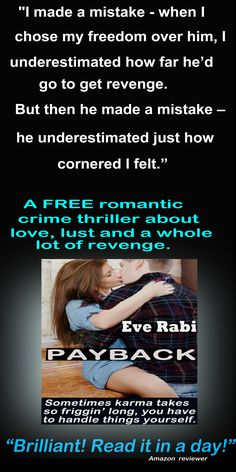 """#books #RomanticSuspense #Reading #CrimeFiction #Fiction #Kindle ... """"I could not put it down, and when I did, I picked it back up 2 mins later! The story grips you from the go. A must read."""" Amazon reviewer #freeBook  #RomanticSuspense #CrimeThrillers #KindleBooks  #Fiction  Amazon UK: http://amzn.to/1vdXcCb  Amazon US: http://amzn.to/15c3Klj  Amazon AUS: http://bit.ly/1FNkDUq"""