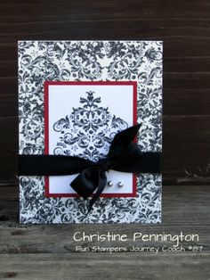 Design by Christine Pennington Join my team today, www.funstampersjourney.com/JeannineGrayson