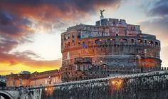 ¿Vas a ir a Roma? En Booking podrás reservar un hotel o apartamento con hasta 50% de descuento.  #booking #roma #habitación #reserva #descuento #viaje #Castillo #SaintAngelo