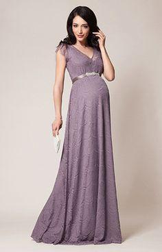 Платье для беременных Kristin Gown Long in Wisteria, Tiffany Rose