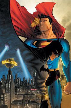 Just a nerd — Superman/Batman by Francis Manapul
