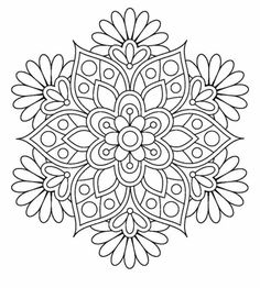 Mandala Coloring Pages Flowers. 30 Mandala Coloring Pages Flowers. Flower Mandala Coloring Pages to and Print for Free Coloring Pages For Grown Ups, Cute Coloring Pages, Flower Coloring Pages, Mandala Coloring Pages, Coloring Books, Coloring Sheets, Coloring Pages For Adults, Mandalas Painting, Mandalas Drawing