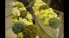 #floraldesign #flowercouture #flowercreation #greenroses #greenandwhiteroses #hybridroses