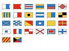 International Signal Code Flags. Navy Flags. Maritime Flags. Nautical signal flags. Segnali marittimi. Bandiere nautiche.