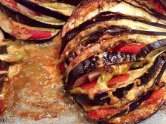 Μελιτζάνα, or Melitzana. Cetogenic Diet, Food Network Recipes, Cooking Recipes, The Kitchen Food Network, Good Food, Yummy Food, Greek Cooking, Appetisers, Greek Recipes