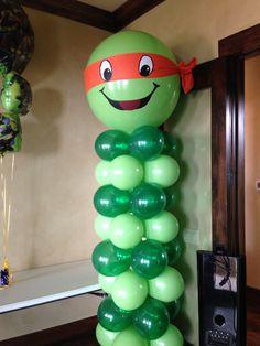 Balloon Ninja Column