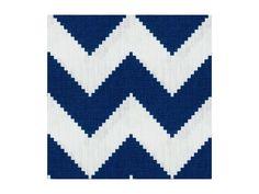 Limitless in Marine by @Jonathan Adler via @Kravet #fabric #linen #blue
