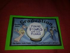 Graduation DIY scratch tickets
