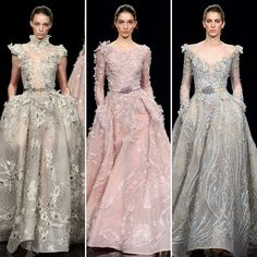 Some of My Favorites From The Ziad Nakad Spring 2017 Couture Runway.  #ziadnakad #designer #style #spring2017couture #dresses #fashion #pfw #moda #pfw17 #parisfashionweek  #fashionstyle #parisfashionweek2017 #spring2017 #fashionblogger #catwalk #fasicmode #hautecouture #couture2017 #collection #fashionista #runway #fashionist  #beauty #spring #ziadnakaddress #fashionblog #fashionpost #glamour