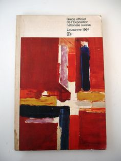 I found this on ebay recently for less than £2. It was designed by Jean & Lucien Ongaro, and features a great tabbing system. The cover features a painting by Hans Falk and the Expo logo was designed by Armin Hofmann.