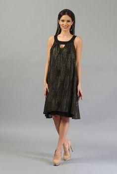 Rochie vaporoasa cu snake print R130N-M -  Ama Fashion