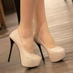 Bling Womens Stiletto High Heels Platform Classic Pumps Shoes Sexy Party $21.14