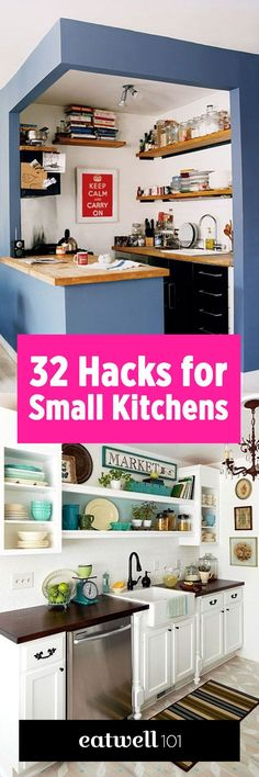 There is absolutely no reason to feel sorry about a small kitchen because it always has its advantages: it's cozier, you won't spend 30 minutes to find something because everything is at hand…