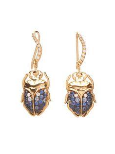 Beetle diamond, sapphire