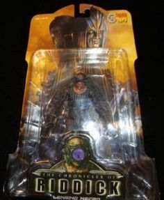 The Chronicles of Riddick Lensing Necromonger Articulated New Soto RARE Unique | eBay
