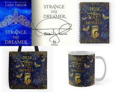 With Love for Books: Strange the Dreamer Signed Hardback, Tote Bag, Mug...