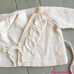Baby Knitting Patterns, Free Knitting, Crochet Bebe, Knit Crochet, Baby Tulle Dress, Strick Cardigan, Romper Pattern, Baby Sweaters, Knit Cardigan