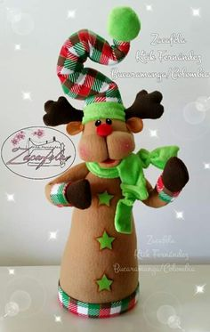 Christmas Projects, Christmas Crafts, Merry Christmas, Christmas Decorations, Felt Patterns, Diy And Crafts, Make It Yourself, Crochet, Creative