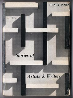henry james_stories of artists & writers  Cover design by Alvin Lustig. New Directions Paperback.