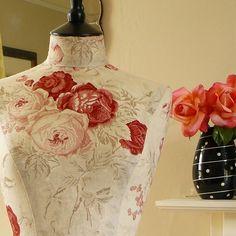 Tailor's mannequin Kate Forman Rose Linen
