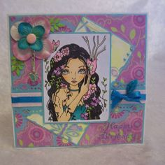 Spring beauty!! by Madmooo - Cards and Paper Crafts at Splitcoaststampers