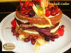 CASADOBOLODATORTA FAZENDO BOLOS E DOCES COM QUALIDADE: Bolo Naked Cake 1 andar.