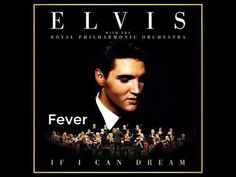 Michael Bublé performing Fever, as featured on 'Elvis With The Royal Philharmonic Orchestra – If I Can Dream', released on October Elvis Presley Albums, Elvis Presley Videos, Michael Buble, Lost That Loving Feeling, If I Can Dream, Elvis Sings, Favorite Christmas Songs, Slow Dance, Rca Records